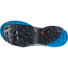 La Sportiva Akasha Running Shoes Women, carbon/pacific blue